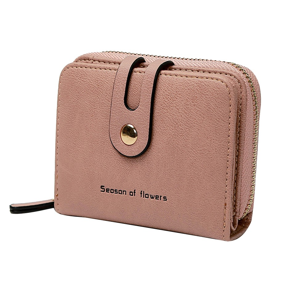 MUQGEW Small Wallet Purse Money-Bag Vintage Fashion Simple Portemonnee Zipper Women Carteras