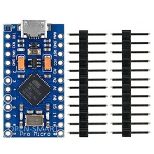 Pro Micro module Mini leonardo board Tiny Atmega32U4 Development Board with Micro USB connector for Arduino Leonardo