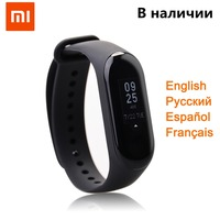 Original Xiaomi Mi Bamd 3 Fitness Bracelet Global Language Smartband OLED Touch Screen 5ATM Waterproof Xiaomi Band 3 Mi Band 2