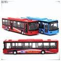 ЗВУК и ФЛЭШ-1:50 детские игрушки Быстрый & Furious Мини-металлические игрушки автобус автомобили модель вытяните назад автомобиль миниатюры подарки для мальчика детей 1069