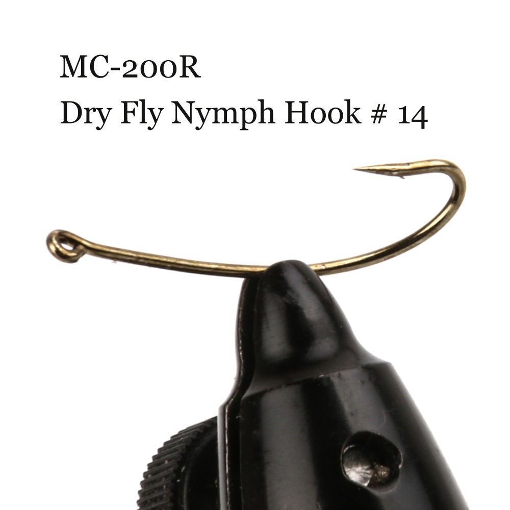 Buy 500 pieces mc 200r size 14 fly hook for Fly fishing hook sizes