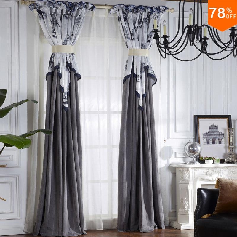 Compra cortinas blancas online al por mayor de China, Mayoristas ...