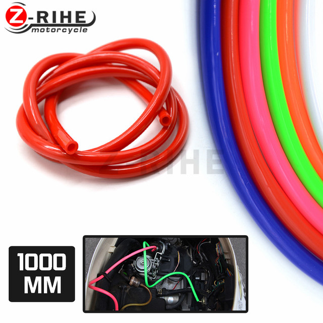 Motorcycle Rubber Fuel Line Green Gas Hose Pipe For Motocross
