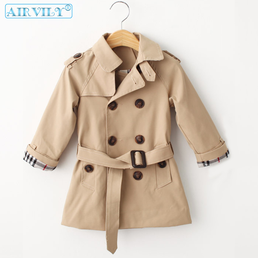 Baby Kids Jackets Girls Princess Spring Autumn Windbreaker Girls Coats And Jacket Toddler Children Trench Coat Overcoat Clothes
