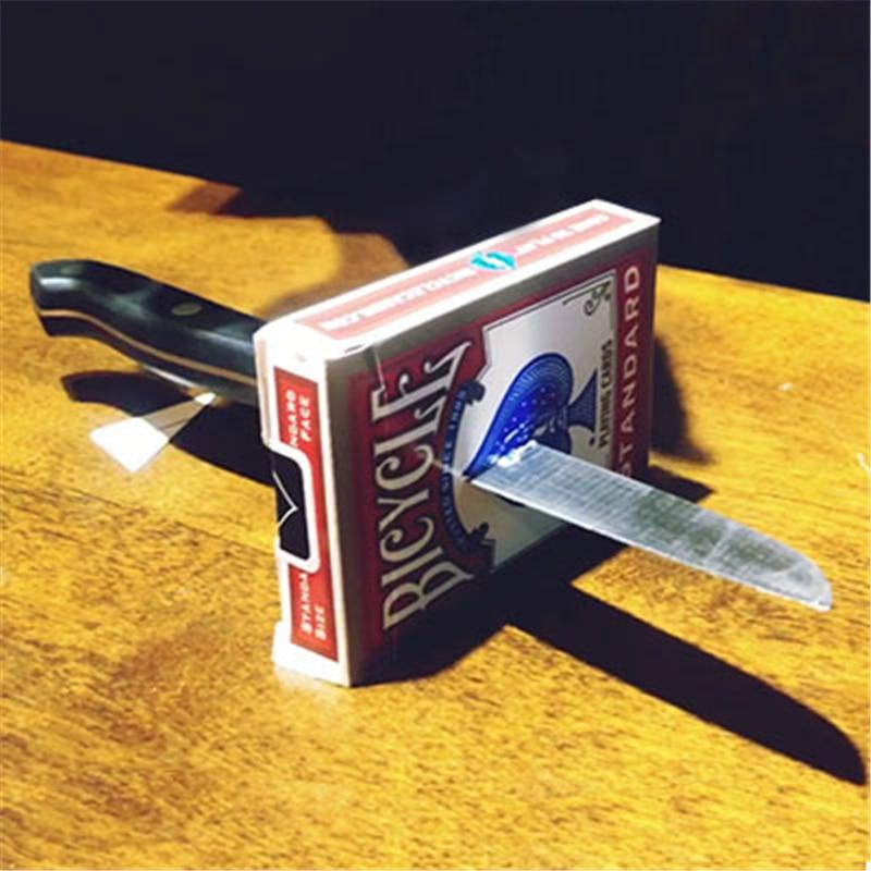 Knife Thru Metal Miraculous Penetration 2.0 Magic Tricks Coins Magician Close Up Illusions Props Comedy Accessories MagicKnife Thru Metal Miraculous Penetration 2.0 Magic Tricks Coins Magician Close Up Illusions Props Comedy Accessories Magic
