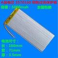 Для планшетных ПК 3 7 дюйма MP3 MP4 [3570160] 70 мм * 160 мм 3 7 в 5000 мАч (полимерный литий-ионный аккумулятор) литий-ионный аккумулятор бесплатная доставк...