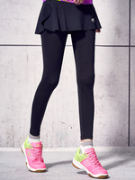 Autumn and Winter Badminton Wear Quick drying Breathable Badminton Fake Two piece Running Long Skirt Pants Women