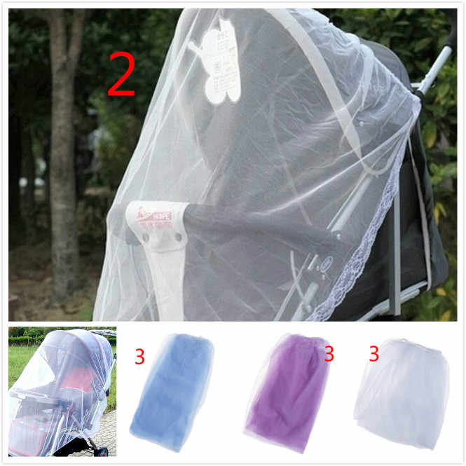5styles Newborn Toddler Infant Baby Stroller Crip Netting Pushchair Mosquito Insect Net Safe Mesh