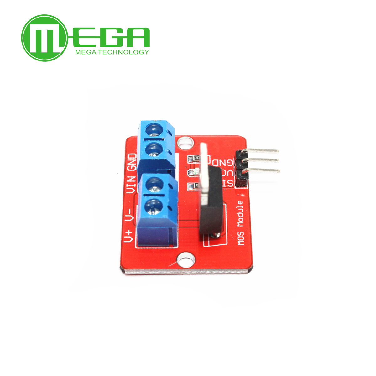 5pcs 0-24V Top Mosfet Button IRF520 MOS Driver Module NIGH