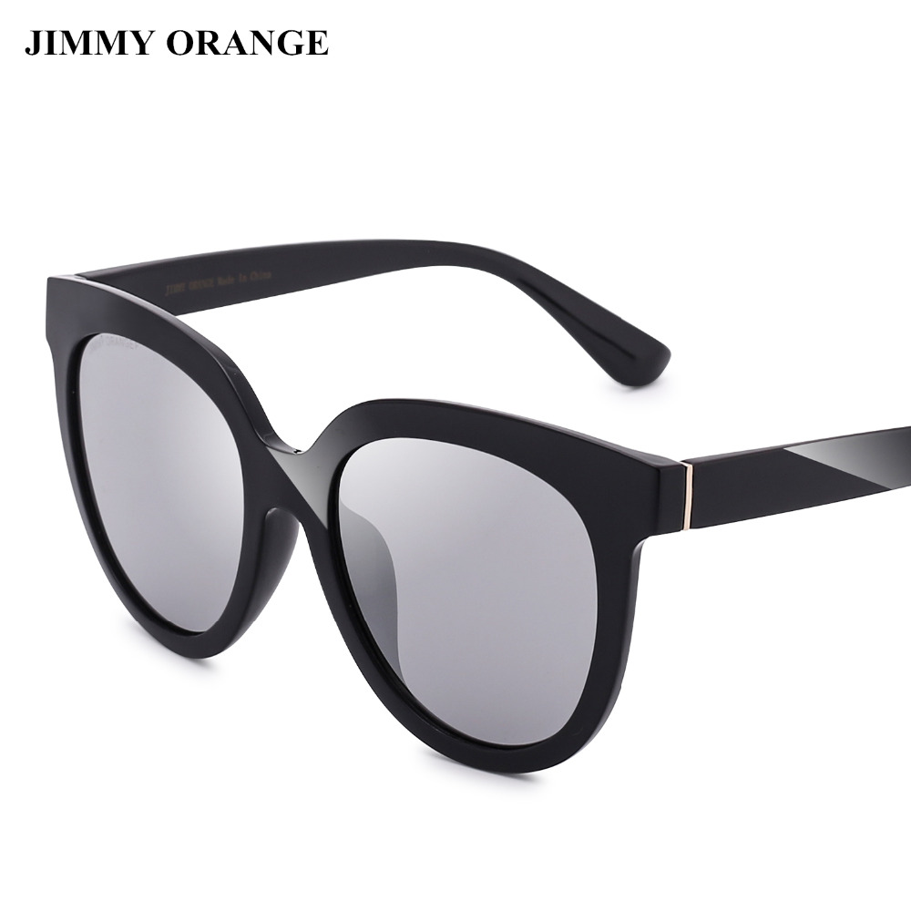 JIMMY ORANGE Carl Zeiss Linsen TR Rahmen Cateye Sonnenbrille Frauen ...
