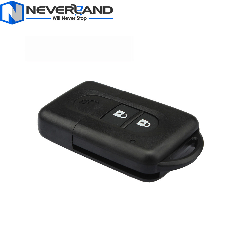 New 2 Button Replacement Remote Car Key Shell Fob Case For Nissan MICRA Xtrail QASHQAI JUKE