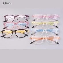 Wholesale cheap ready Super-elastic eyeglasses man Super toughness ultra thin light women glasses spectacle frame prescription
