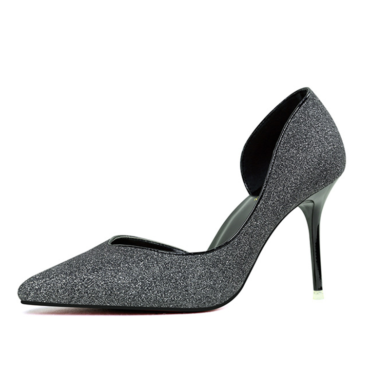 Online Buy Wholesale beautiful silver heels from China beautiful