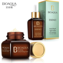 BIOAQUA Hyaluronic Acid Face Repair Essence + Eye Cream Firming Whitening Moisturizing Anti Wrinkle Anti Aging Skin care цена