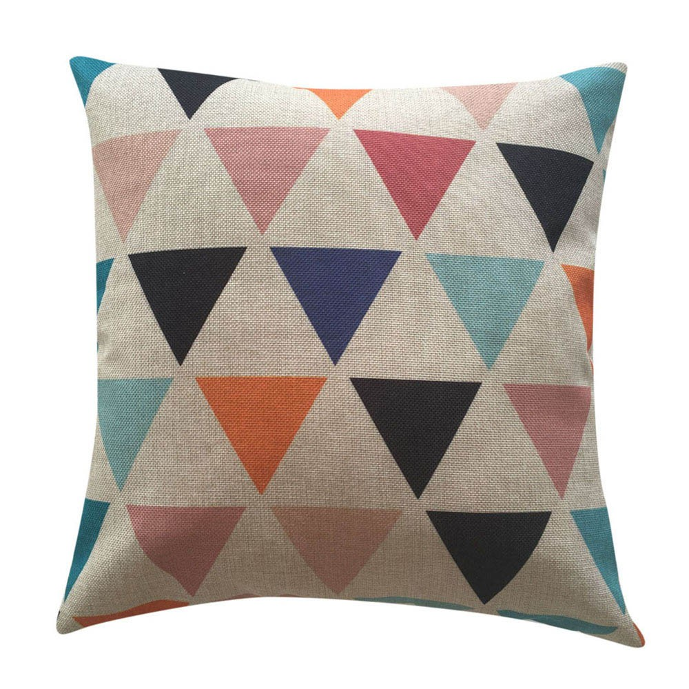 pillow case vintage pillow covers geometric decorative throw pillows lovely pillowcase coussin ...
