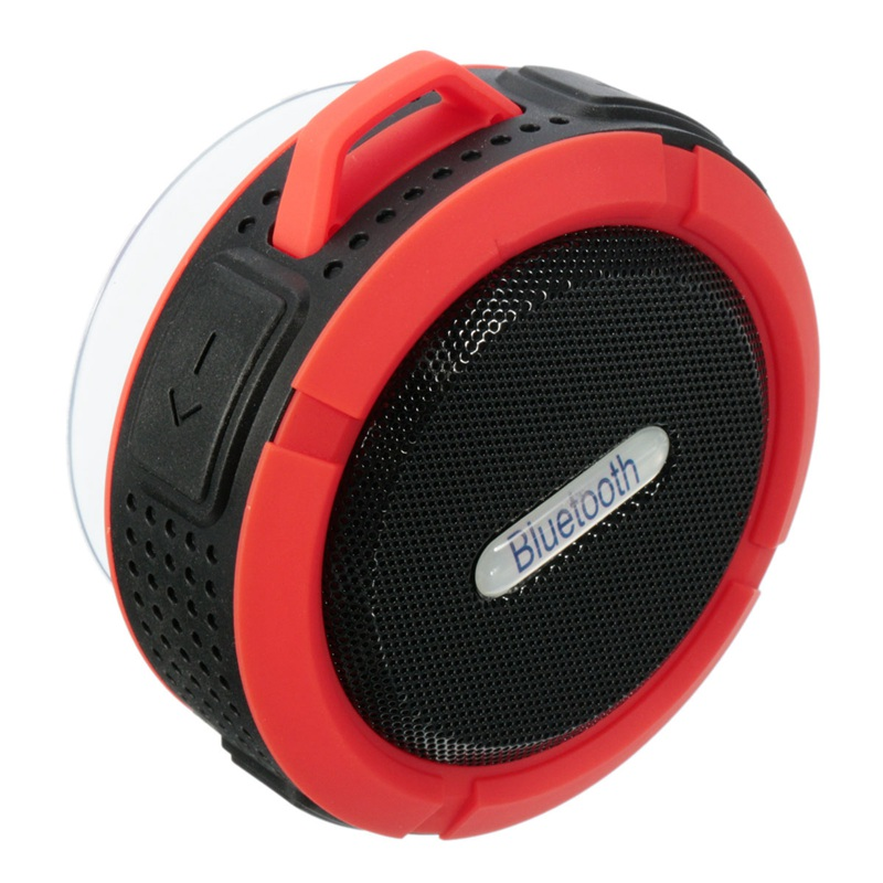 Shower Speaker Bluetooth Waterproof With Suction Cup Mic Wireless Mini Portable