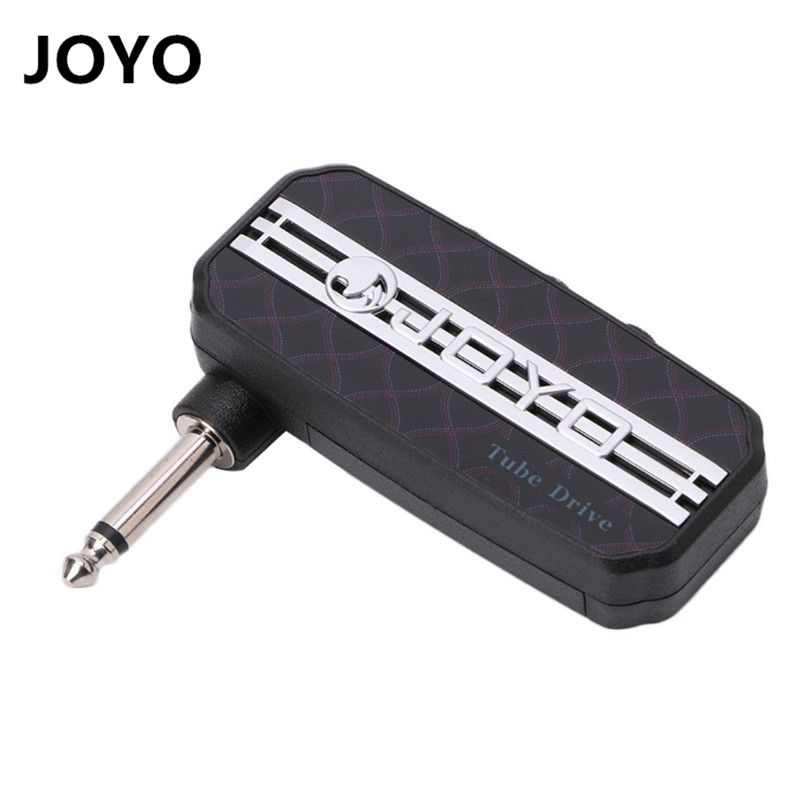 JOYO JA-03 Classic Rock Electric Guitar Mini Pocket Amp Amplifier  Distortion Sound Effect with Earphone Output joyo ja 01 2w mini amplifier direct guitar plug in with big sound great for practice