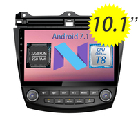 WANUSUAL 10 1inch Quad Core Android 6 0 Car DVD GPS Navigation For Honda Accord 7