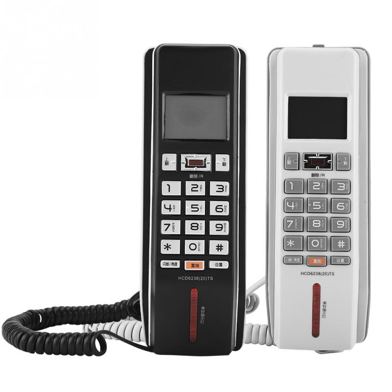 Incoming Call Display Wall Telephone Call Records Check FSK/DTMF Time Regulation Landline Phone