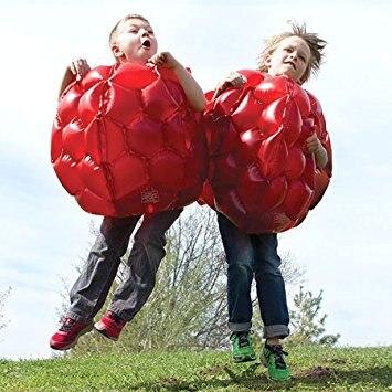 2 Teile/los 60 cm Rot Blau Aufblasbare Körper Bumper Für Jungen Mädchen Outdoor Spiel Ball Kinder Sport Spielzeug Zerschlagen Es spielzeug-in Spielzeugkugeln aus Spielzeug und Hobbys bei  Gruppe 3