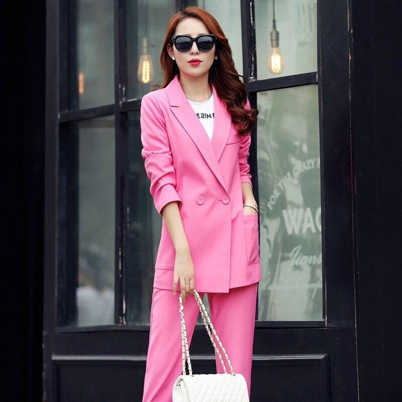 Online Shop Summer Pantsuits Elegant Trouser Suits For Ladies 2015 ...
