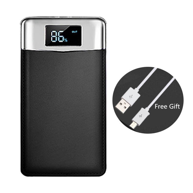 Original Power Bank 20000mAh External Battery Fast charge Dual USB Powerbank 18650 Portable Mobile phone Charger