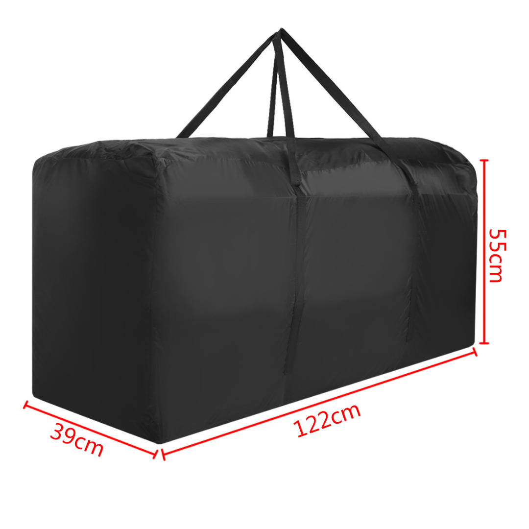 Mayitr Garden Furniture Storage Bag Cushions Upholstered Seat Protective Cover Home Waterproof Storage Bags
