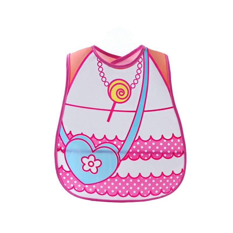 KEOL Best Sale Child Baby Kid Toddler Infant Feeding Bib Waterproof Boy Girl Saliva Pocket NEW bee