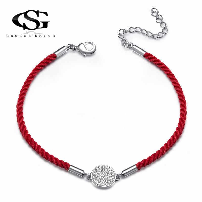 Gs の String スレッド 100% 手作りオーストリアのクリスタル女性レディース腕輪エスニックロングチェーン男性ジュエリー G5F