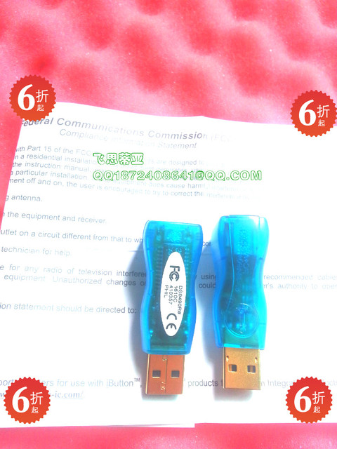 DS9490R # Maxim Programmatore Usb: 1 Wire/Ibutton Adattatore Adattatore Mocha