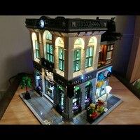 LED Light Up Kit For Brick Bank Building Kit Model Building Kit Toy Compatible With Lego