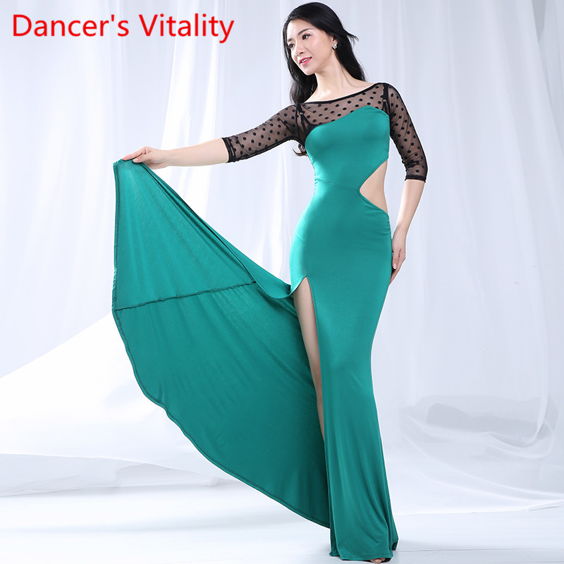 Belly Dancing Practice New Suit 2019 Sexy Beginner Dress Oriental Dance Dress Women Belly Dance Costumes