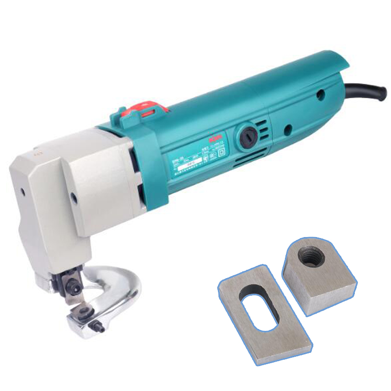 Outil de coupe de feuille de fer électrique plaque en aluminium souple cisaille à ciseaux Machine daffûtage automatique SH6-25