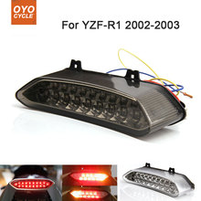 цена на Motorcycle Integrated LED Tail Light Brake Turn Signal Blinker For Yamaha YZF R1 YZF-R1 2002 2003