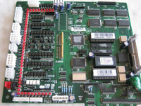 Genuine CPU main board P/N E866 for Chinese embroidery machines Feiya ZGM Haina etc / electronic card spare parts