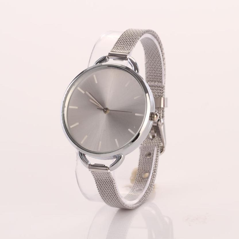 Relojes Mujer 2016 Clock Women Casual Newly Ladies Watch Analog Stainless Bracelet Watch Quartz Wristwatch Montre Femme кабель usb 2 0 am microbm 1м gembird золотистый металлик cc musbgd1m
