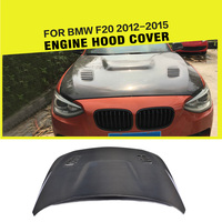 car styling Double sided carbon fiber auto front engine bonnets hood cover for BMW F20 2012 2015
