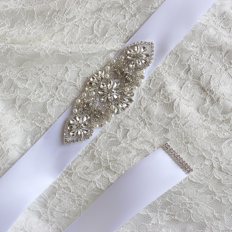 New Handmade Western Beaded Belts Jeweled Waist Bridal
