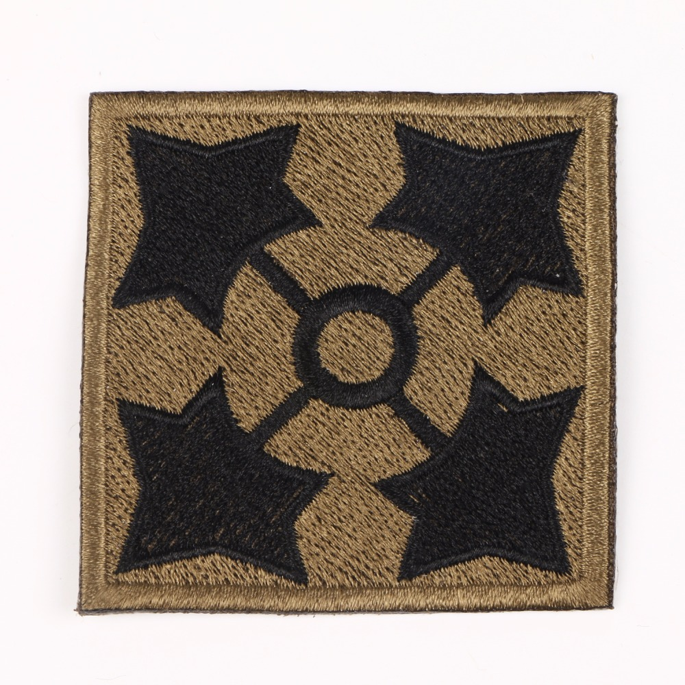 U.S. ARMY 4TH INFANTRY DIVISION SHOULDER EMBROIDERED PATCH