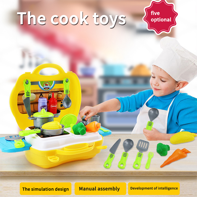 Children play house toys, supermarket toy boxes, doctor, analog medicine boxes, furniture repair box toy gifts.
