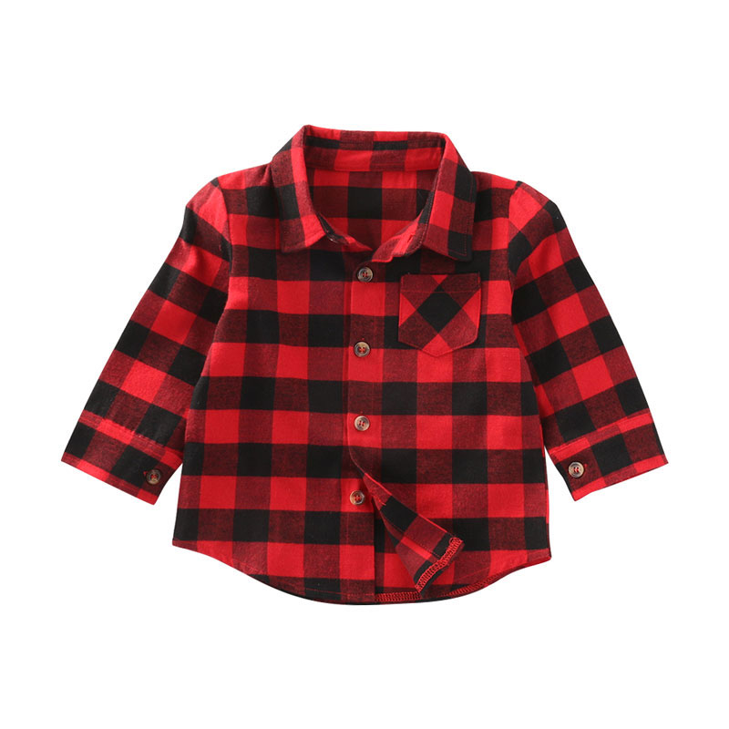 baby girl cotton plaid shirt kids red plaid blouse baby girl autumn tops toddler casual blouse. Black Bedroom Furniture Sets. Home Design Ideas