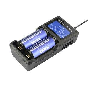 Image 5 - XTAR VC2 sạc cho 10440/16340/14500/14650/17670/18350/18490/18500/ 18650/18700/26650/22650/20700/21700 pin Sạc