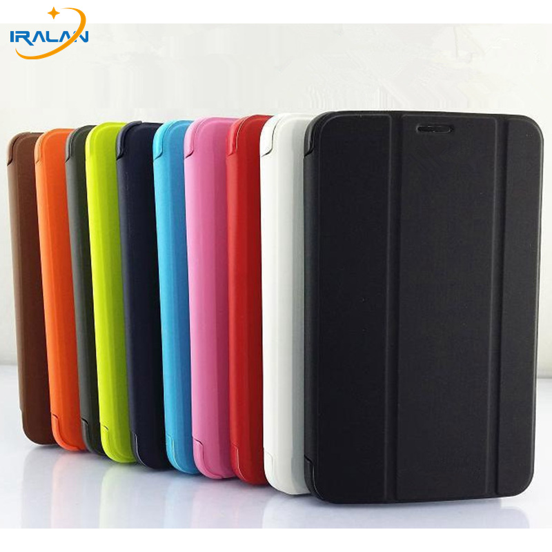 2017 new Business Luxury Slim Leather Cover Case For Samsung Galaxy Tab 3 Lite t113 T110 T111 7 inch Tablet+pen free shipping case cover for goclever quantum 1010 lite 10 1 inch universal pu leather for new ipad 9 7 2017 cases center film pen kf492a