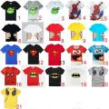 2016 New clothes boys girls t shirt cartoon Minions kids Children Tops Summer Wear Short Sleeve Clothing boys clothes
