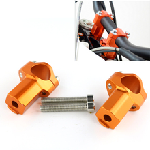 Fit for KTM 990 1090 1190 Adventure R Supermoto CNC Motorcycle Accessories HandleBar Risers Bar Mount Clamp 28 mm 1 1/8