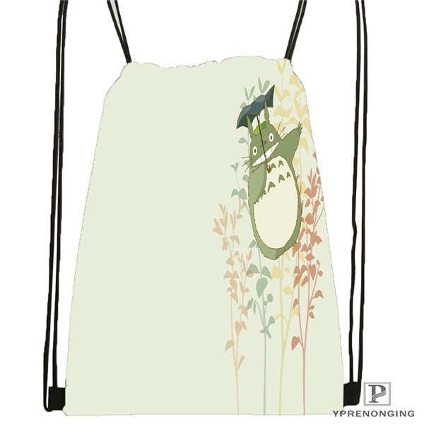Custom Drawstring Backpack Drawstring Backpack Bag Cute Daypack Kids Satchel Black Back 31x40cm 180611 01 04