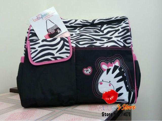 Free Shipping Whole Microfiber Pink Zebra Print Carter Diaper Bag 600d Green Giraffe Lovely Babyboom Ny