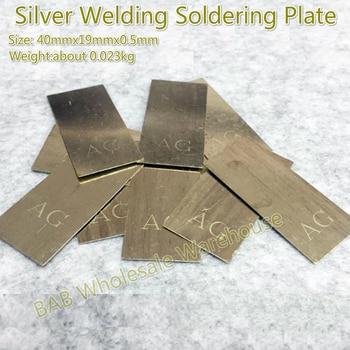 8038cb7f0d74 De plata de soldadura de la placa de soldadura para joyería herramientas de  soldadura equipos de plata 900 925 de la placa de soldadura de alambre  varillas ...