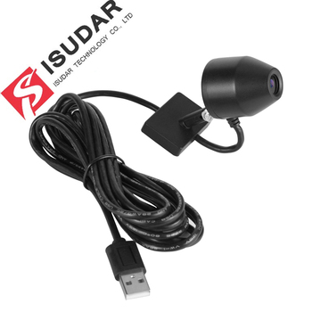 Isudar Car Front Camera video recorder USB DVR 32GB for ROCKCHIP Android 7.1 8.0 Car Multimedia player GPS image