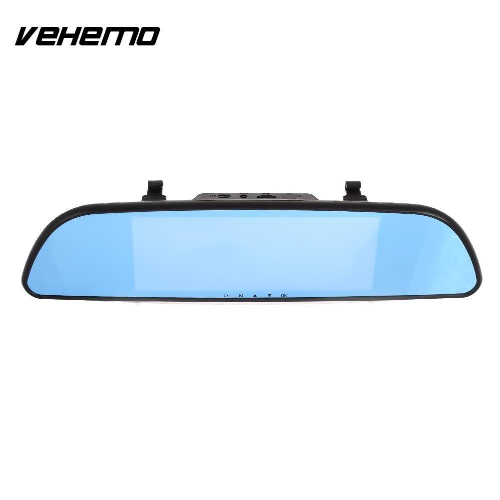 Vehemo 7 pouces HD 1080 P Premium Durable Dash Cam écran tactile g-gensor voiture DVR voiture caméra caméscope moniteur de stationnement